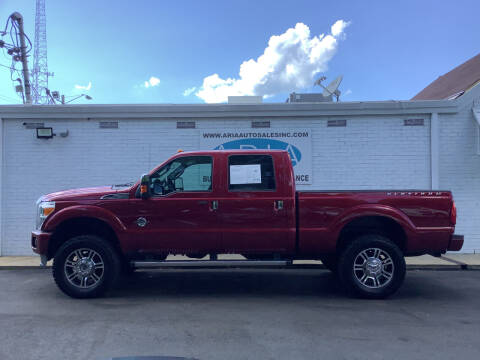 2015 Ford F-250 Super Duty for sale at ARIA  AUTO  SALES in Raleigh NC