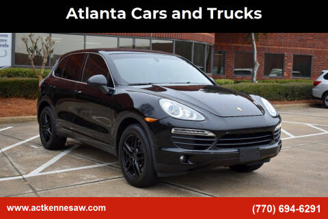 2011 Porsche Cayenne for sale at Atlanta Cars and Trucks in Kennesaw GA