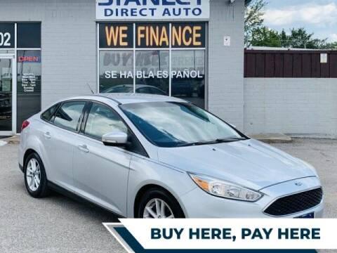 2016 Ford Focus for sale at Stanley Automotive Finance Enterprise - STANLEY CHRYSLER DODGE JEEP RAM GATESVILLE in Gatesville TX