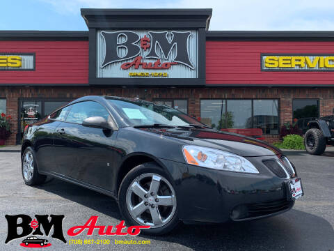 2009 Pontiac G6 for sale at B & M Auto Sales Inc. in Oak Forest IL