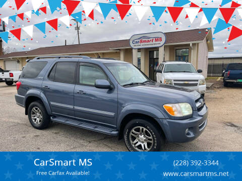 2006 Toyota Sequoia for sale at CarSmart MS in Diberville MS