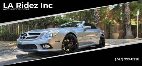 2012 Mercedes-Benz SL-Class for sale at LA Ridez Inc in North Hollywood CA