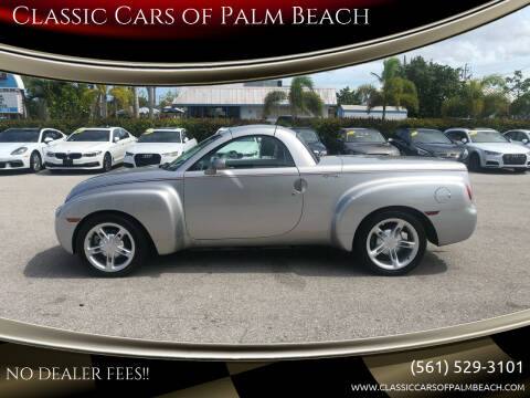 2004 Chevrolet SSR for sale at Classic Cars of Palm Beach in Jupiter FL
