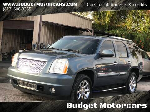 2008 GMC Yukon for sale at Budget Motorcars in Tampa FL