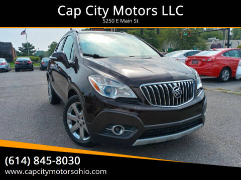 2016 Buick Encore for sale at Cap City Motors LLC in Columbus OH