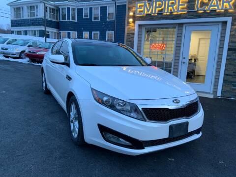 2013 Kia Optima for sale at EMPIRE CAR INC in Troy NY