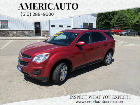 2013 Chevrolet Equinox for sale at AmericAuto in Des Moines IA