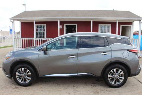 2018 Nissan Murano for sale at AMT AUTO SALES LLC in Houston TX