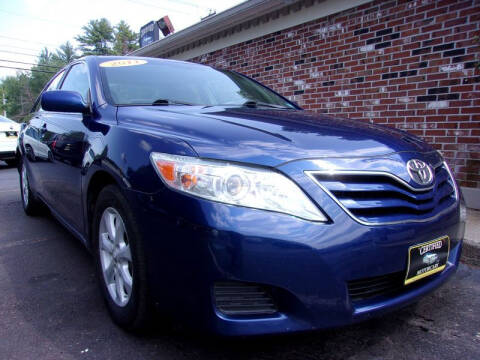 2011 Toyota Camry for sale at Certified Motorcars LLC in Franklin NH