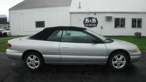 2000 Chrysler Sebring for sale at B & B Sales 1 in Decorah IA