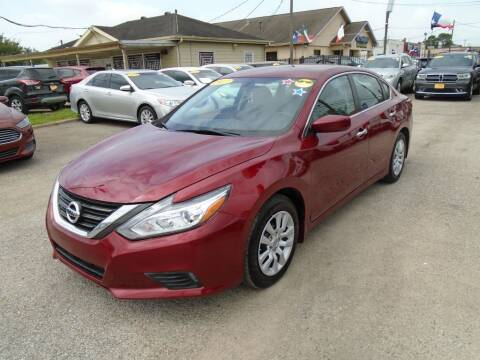 2017 Nissan Altima for sale at BAS MOTORS in Houston TX