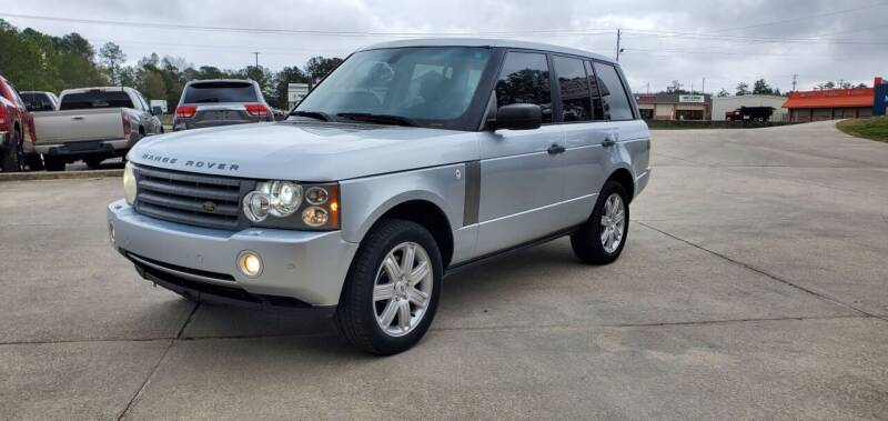 2008 Land Rover Range Rover for sale at WHOLESALE AUTO GROUP in Mobile AL