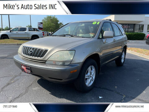 2001 Lexus RX 300 for sale at Mike's Auto Sales INC in Chesapeake VA
