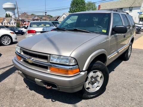 2002 Chevrolet Blazer for sale at Majestic Auto Trade in Easton PA