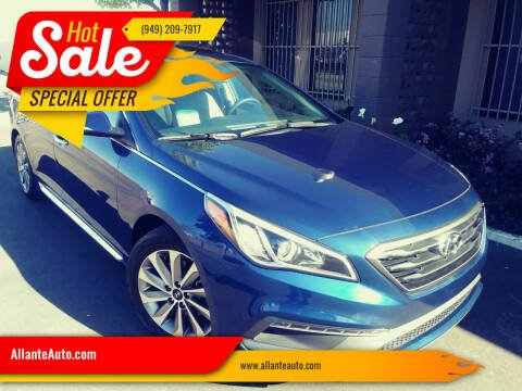 2017 Hyundai Sonata for sale at AllanteAuto.com in Santa Ana CA