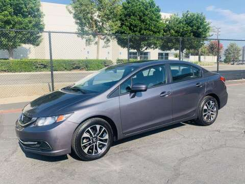 2015 Honda Civic for sale at CARLIFORNIA AUTO WHOLESALE in San Bernardino CA