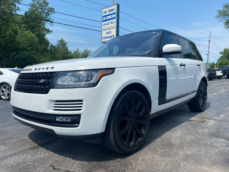 2016 Land Rover Range Rover for sale at Erie Shores Car Connection in Ashtabula OH