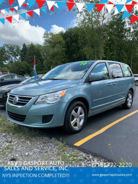 2010 Volkswagen Routan for sale at KEV'S GASPORT AUTO SALES AND SERVICE, INC in Gasport NY