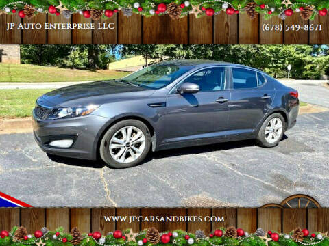 2011 Kia Optima for sale at JP Auto Enterprise LLC in Duluth GA