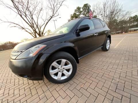 2007 Nissan Murano for sale at JES Auto Sales LLC in Fairburn GA