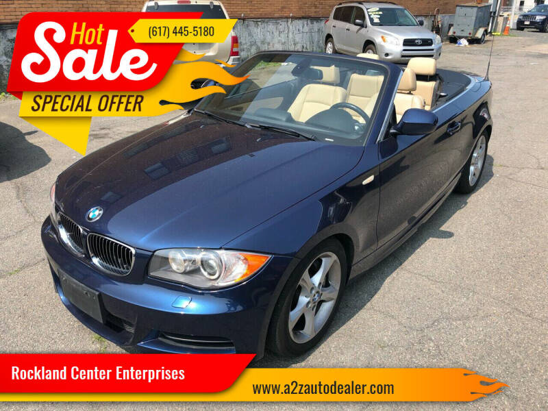 2011 BMW 1 Series for sale at Rockland Center Enterprises in Roxbury MA