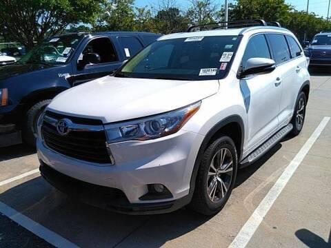2016 Toyota Highlander for sale at FLORIDA CAR TRADE LLC in Davie FL