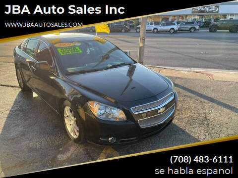 2009 Chevrolet Malibu for sale at JBA Auto Sales Inc in Stone Park IL