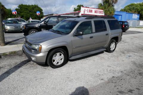 2003 Chevrolet TrailBlazer for sale at J Linn Motors in Clearwater FL