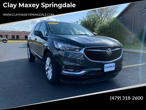 2018 Buick Enclave for sale at Clay Maxey Springdale in Springdale AR