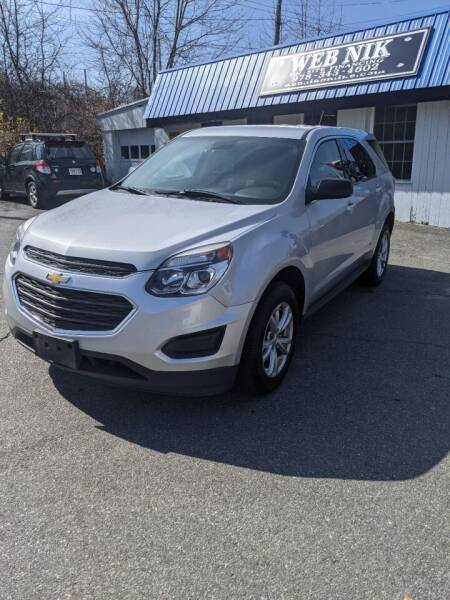 2017 Chevrolet Equinox for sale at WEB NIK Motors in Fitchburg MA