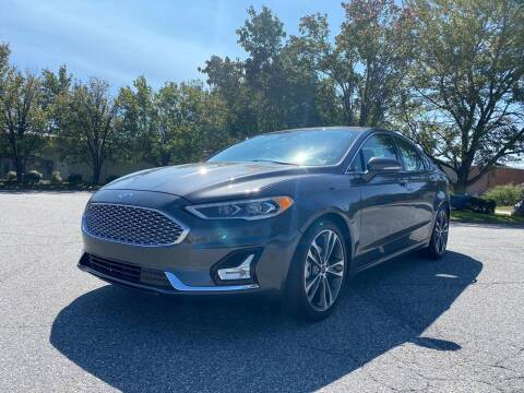 2020 Ford Fusion for sale at Triple A's Motors in Greensboro NC