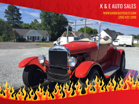 1931 Ford Roadster for sale at K & E Auto Sales in Ardmore AL