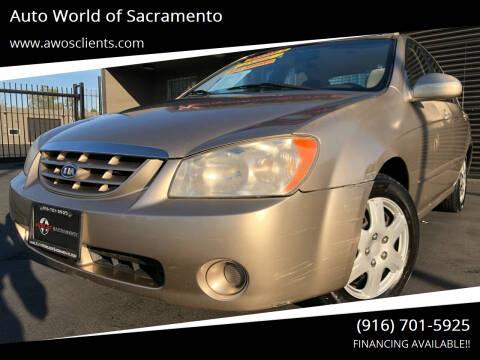2006 Kia Spectra for sale at Auto World of Sacramento Stockton Blvd in Sacramento CA