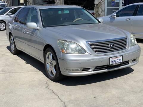 2005 Lexus LS 430 for sale at CAR CITY SALES in La Crescenta CA