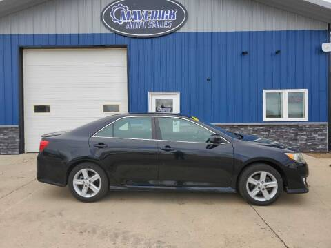 2014 Toyota Camry for sale at Maverick Automotive in Arlington MN