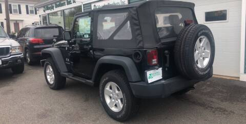 2007 Jeep Wrangler for sale at MURPHY BROTHERS INC in North Weymouth MA