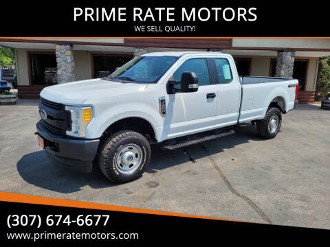 2017 Ford F-250 Super Duty for sale at PRIME RATE MOTORS in Sheridan WY