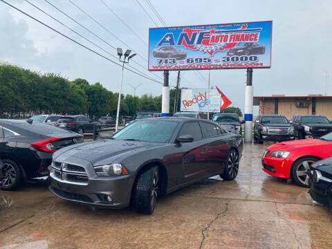2014 Dodge Charger for sale at ANF AUTO FINANCE in Houston TX