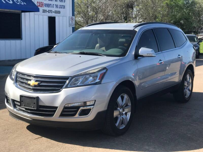 2014 Chevrolet Traverse for sale at Discount Auto Company in Houston TX