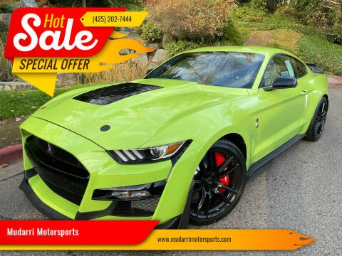 2020 Ford Mustang for sale at Mudarri Motorsports in Kirkland WA
