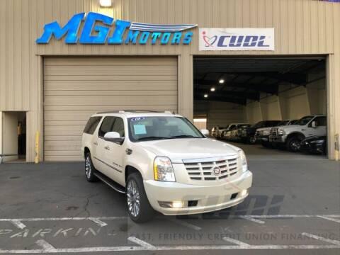 2008 Cadillac Escalade ESV for sale at MGI Motors in Sacramento CA