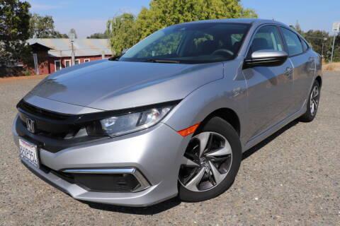 2019 Honda Civic for sale at California Auto Sales in Auburn CA