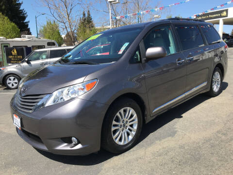 2014 Toyota Sienna for sale at Autos Wholesale in Hayward CA