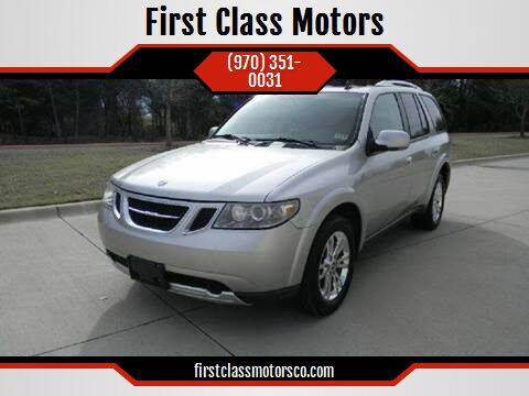 2008 Saab 9-7X for sale at First Class Motors in Greeley CO