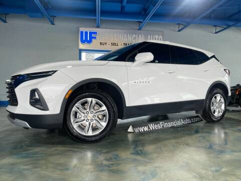 2020 Chevrolet Blazer for sale at Wes Financial Auto in Dearborn Heights MI