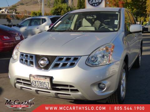 2013 Nissan Rogue for sale at McCarthy Wholesale in San Luis Obispo CA