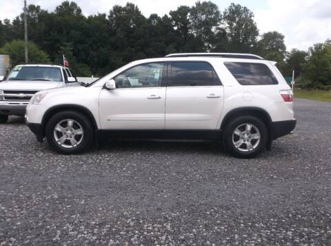 2009 GMC Acadia for sale at Car Check Auto Sales in Conway SC