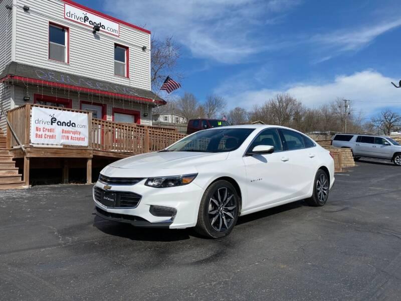 2017 Chevrolet Malibu for sale at DrivePanda.com Joliet in Joliet IL