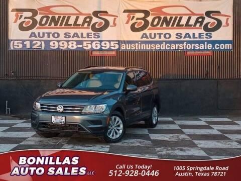 2019 Volkswagen Tiguan for sale at Bonillas Auto Sales in Austin TX