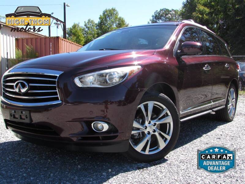 2013 Infiniti JX35 for sale at High-Thom Motors in Thomasville NC